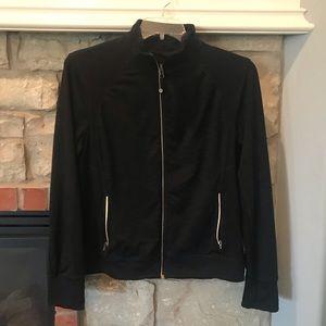 Black Tangerine workout leisure jacket